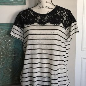 Cute Zara Top with Lace